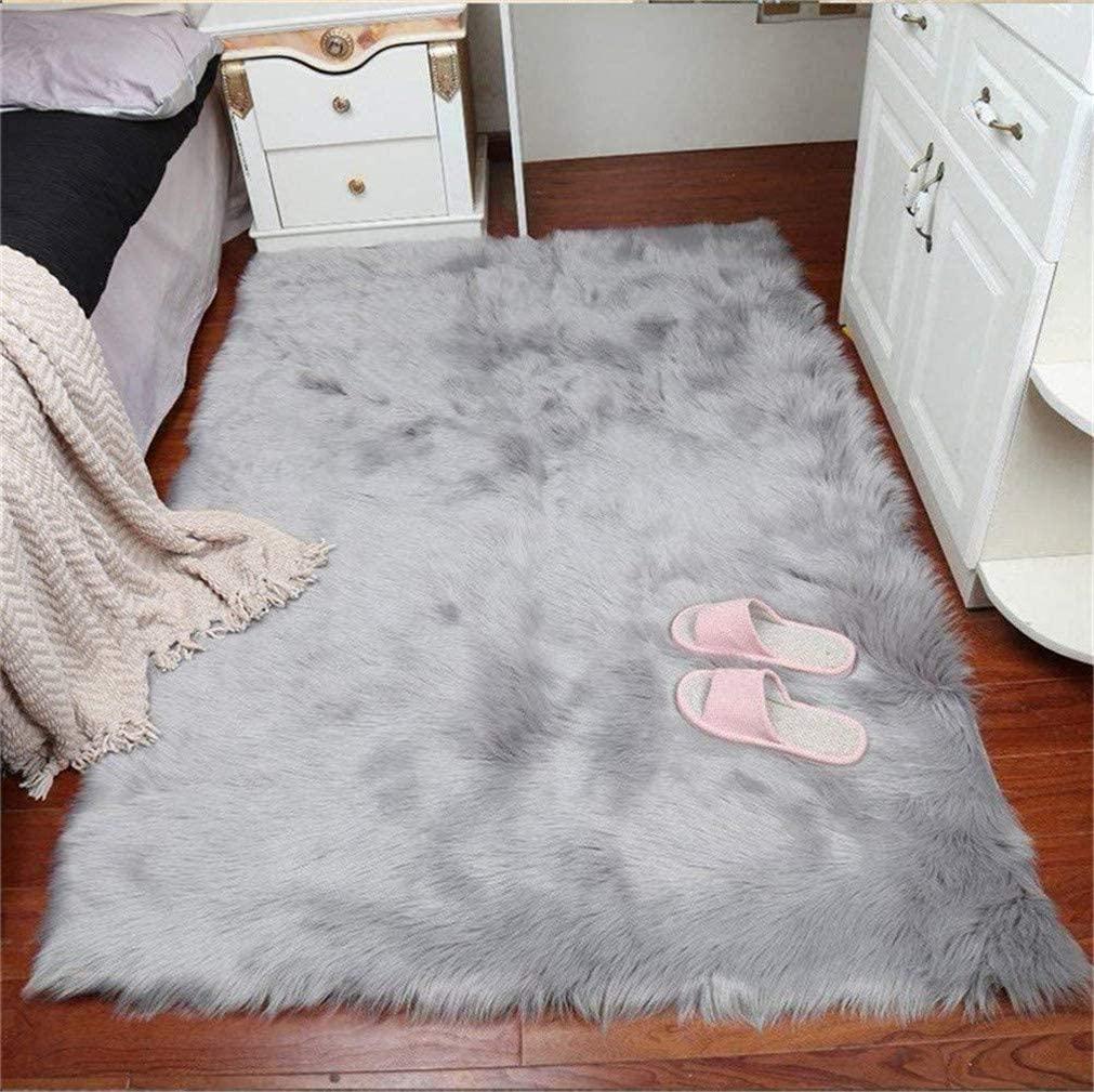 alfombra imitación de piel, piel sintética
